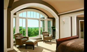 Casement plus curved window from Andersen Windows