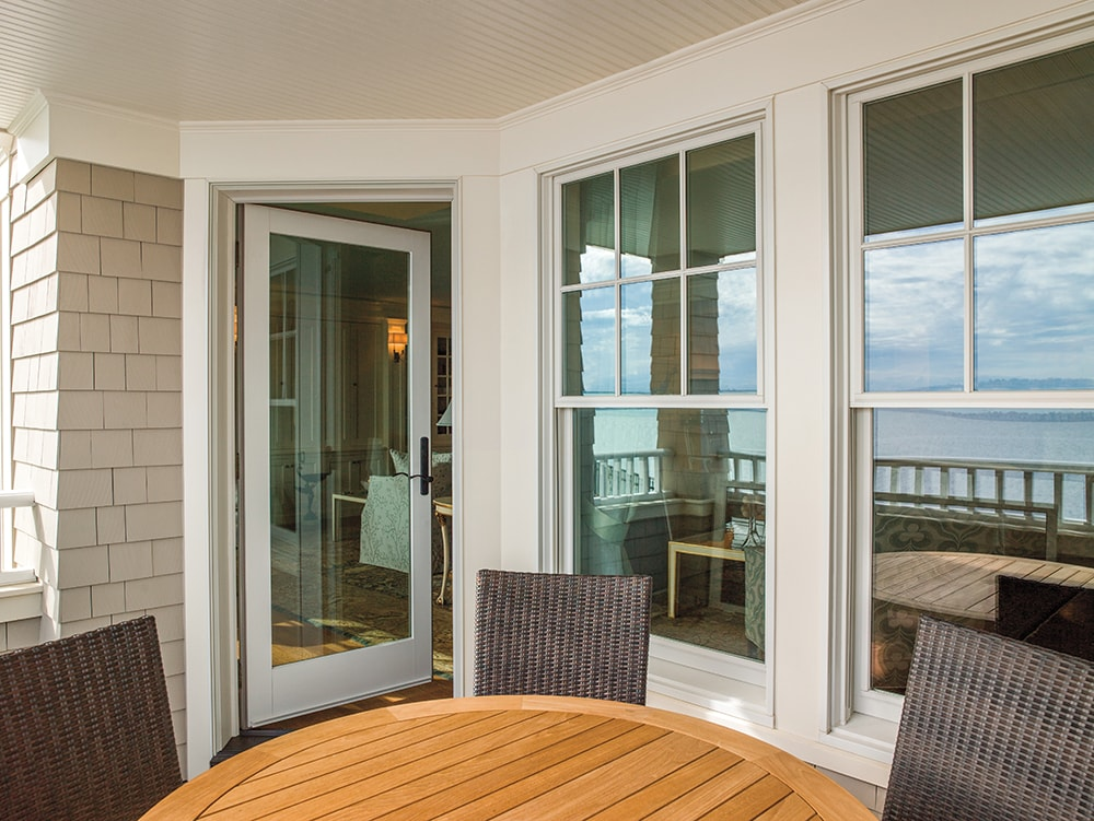 Andersen 400 Series Tilt Wash Double Hung Windows Installed By Mtb More