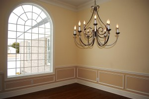 Dining room window in Martinsburg, WV home