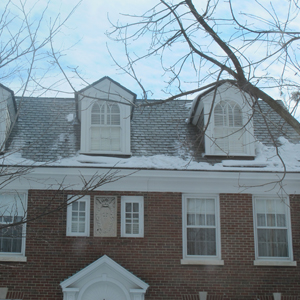 Snow on roof in Hagerstown, MD