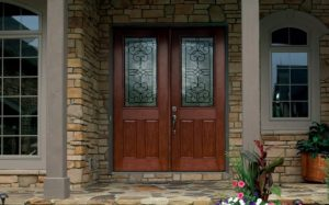 Therma-Tru Front Entry Door installed by MTB Windows & More in Clear Spring, MD