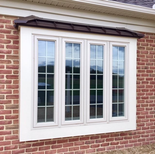 Andersen window on Hagerstown duplex built by Mt. Tabor Builders in Clear Spring